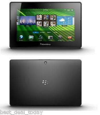 P Blackberry Playbook 64GB Wi-Fi, 7in 7 Inch Tablet Play-Book BB Black 64-GB