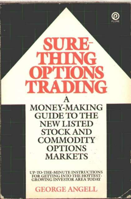 Sure Thing Options Trading book by George Angell