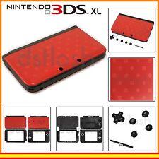 Carcasa de Repuesto Nintendo 3DS XL Roja de Reparacion Modelo Rojo Mario Bros