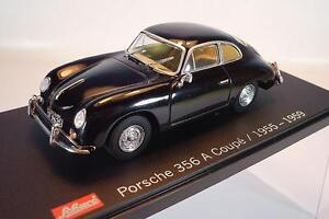 Schuco-1-43-Porsche-356-A-Coupe-schwarz-1955-1959-in-Plexi-Box-1452