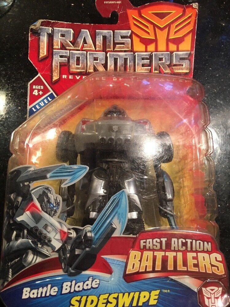 Transformers Revenge Of The Fallen Fast Action Battlers Battle Blade Sideswipe
