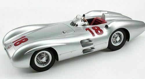 1 12 Gp Replicas GP12-07A Mercedes W196 W196 W196 Streamliner M.Fangio Lmtd.Ed.500St.  artículos novedosos