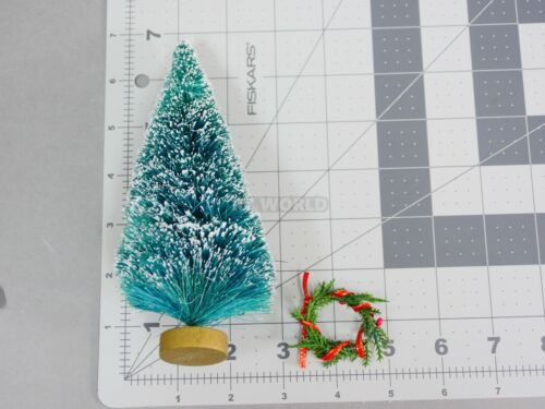WREATH Pine RC Scale Garage Accessories CHRISTMAS TREE