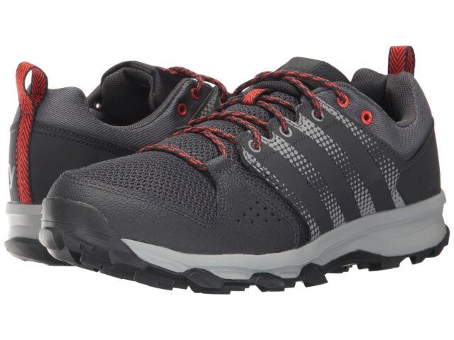 Adidas Galaxy zapatillas de trail corriendo bb6106 negro / gris / naranja para hombres