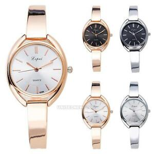 Luxury-Womens-Elegant-Ladies-Dress-Bracelet-Stainless-Steel-Quartz-Wrist-Watch