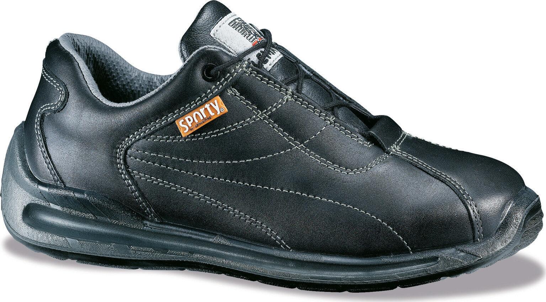 LEMAITRE scarpe SPORTY S3 SRC nera pelle punta in acciaio scarpe LEMAITRE scarpa da Lavoro PPE d01887