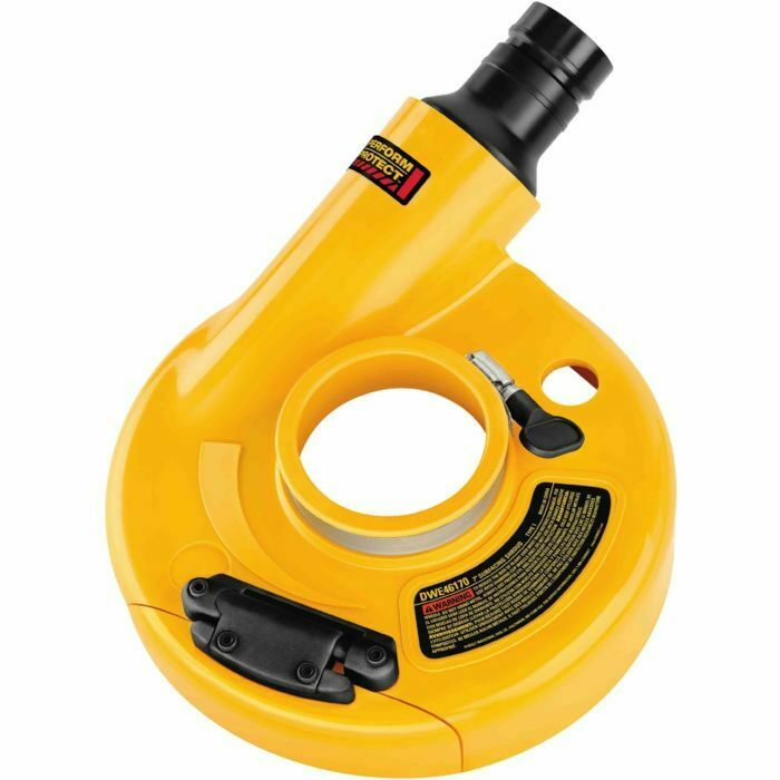 DeWalt DWE46170 7  SURFACE GRINDING DUST SHROUD FOR DEWALT 7  GRINDER.