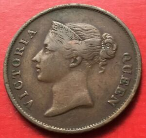 Straits-East-India-Company-Victoria-One-Cent-1862-4