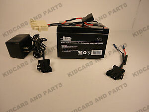 little tikes hummer re plug kit includes 12 v 12 ah battery,charger