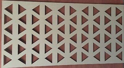 Radiateur Cabinet décoratif Screening Perforé 3 mm /& 6 mm épais MDF Laser Cut