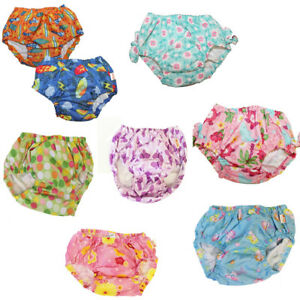 NEW-Girl-039-s-Boy-039-s-Swimming-Reusable-Diaper-Cover-Bathing-Suit-18M-2T-3T-4T