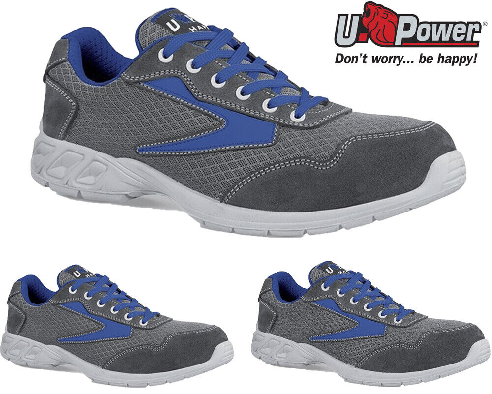 Mens Lightweight U-POWER Composite Toe Safety Trainers Womens Work Boots shoes S