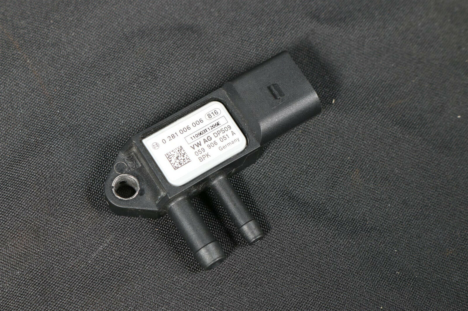 />Audi A4 8K A5 8T VW Differenzdruckgeber pressure difference sender 059906051A/<