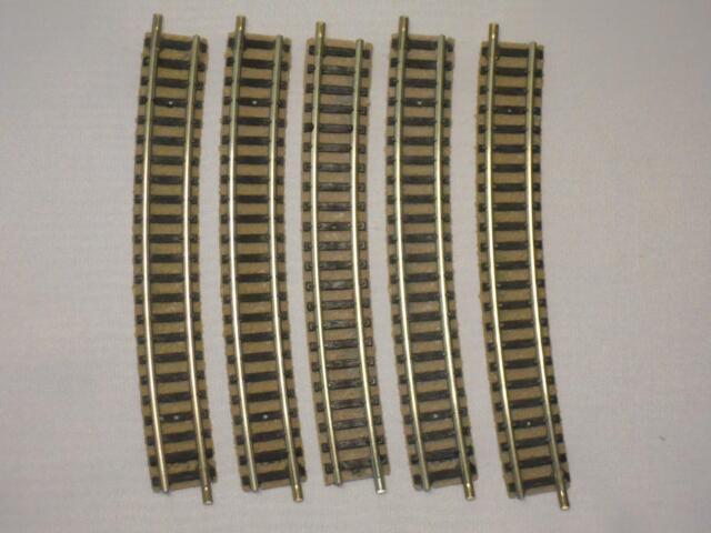 Flm piccolo 9136 gebogenes Gleis R4 15° hellgrau 5 Stück (34293)