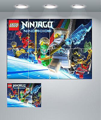 Lego Ninjago Nindroids Large Poster Art Print Maxi A0 A1 A2 A3 A4