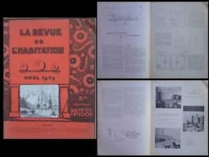 Objectif Revue De L'habitation N°106 1929 Le Corbusier, Maison Minimum, Perriand, Lurcat DéLicieux Dans Le GoûT