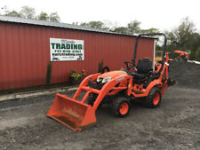 2017 Kubota Bx23s 4x4 Hydro 23hp Compact Tractor Loader Backhoe With 800hrs