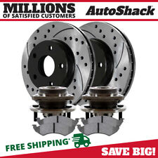 Disc Brake Rotor and Hub Assembly-RWD Front OMNIPARTS 13100349