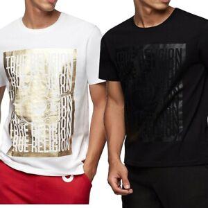 True-Religion-Herren-Shine-Buddha-Logo-Tee-T-Shirt