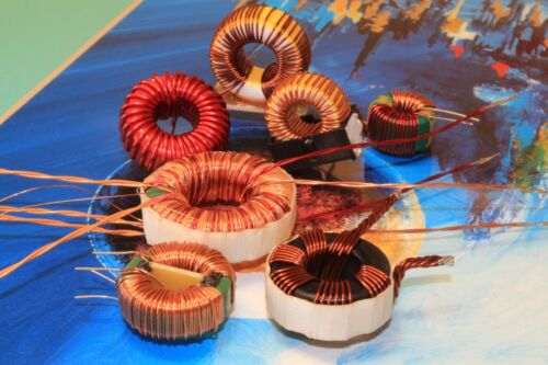 2 x  6.25mH Inductor,Coils,Toroid,Filter,Common Mode Chokes,