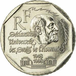 727021-Coin-France-Rene-Cassin-2-Francs-1998-Paris-AU-55-58-Nickel