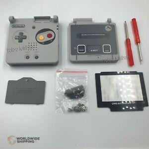 Kit case nintendo game boy advance sp/gba shell box super famicom sfc snes