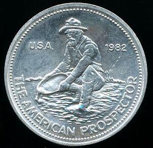 Engelhard American Prospector 1 Troy Oz 999 Fine Silver