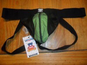 barcode-berlin-richard-polyurathane-leather-look-zip-jock-enhancing-large-bnwt