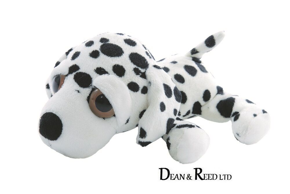 Lil Li'l Peepers Medium 24.8cm by Dash Dalmatian Soft Toy by 24.8cm Suki(Plush Beanie) 27c27a