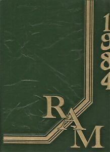 "1984 /""Ram/"" Texas Berkner High School Yearbook Richardson Lloyd V"