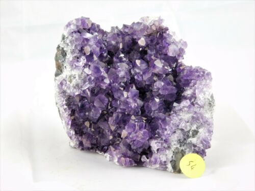 AM54 Amethyst Quartz Geode Crystal Brazil Free Standing Great Gift