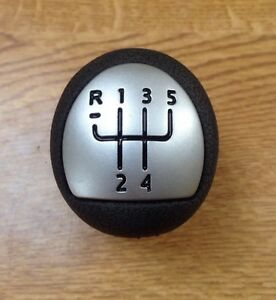 RENAULT-CLIO-MK2-172-182-RS-Sport-Argent-Chrome-Pommeau-Levier-Vitesse-MEGANE-dci-5-vitesse