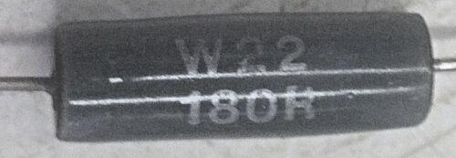 WW 7W 2/% Precio Por 5 Resistencia WELWYN W22 180R