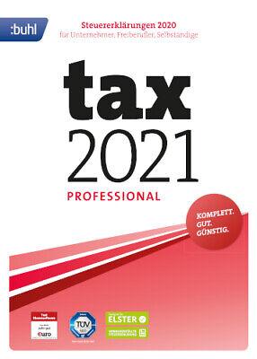 Tax 2021 Professional (für Steuerjahr 2020), Download (ESD ...