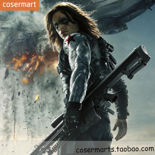 Captain America 3 civil war winter soldier Barnes cosplay armor arm PVC New Hot