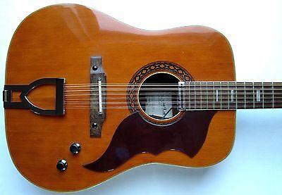 Vintage Ventura Bruno Model Number V 16 12 String Collection On Ebay
