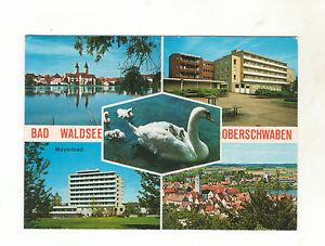 Ak-Bad-Waldsee-Moorheilbad-in-Oberschwaben-Mehrbildkarte-Guter-Zustand