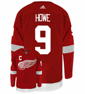 Gordie-Howe-Detroit-Red-Wings-Adidas-Authentic-Home-NHL-Vintage-Hockey-Jersey