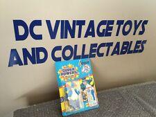 Vintage 1985 Kenner Super Powers Series 1 23 Back Penguin Clark Kent Offer