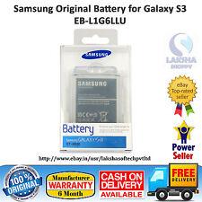 100% ORIGINAL SAMSUNG BATTERY EB-L1G6LLU FOR GALAXY S3 SIII i9300 2100 MAH.