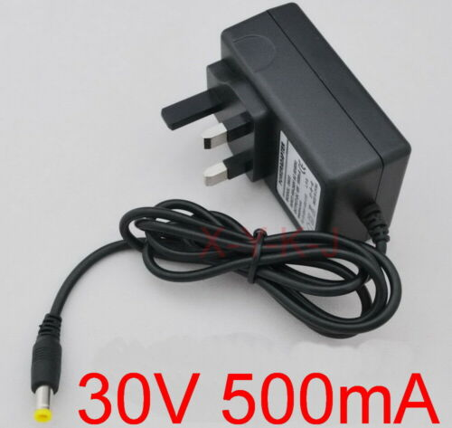 30V 500mA UK plug adapter For BOSCH Athlet Vacuum cleaner Charger  Power supply