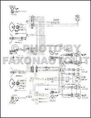 1980 corvette original foldout wiring diagram 80 oem electrical schematic  chevy | ebay  ebay