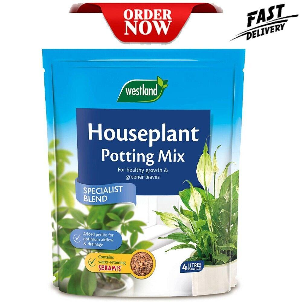 House Plant Cactus Potting Compost Mix Enriched Soil Seramis Indoor 4L & 8L NEW