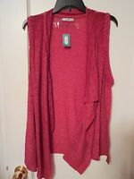 Maurices Red Burnout Cardigan Lightweight Size Small - Msrp $29