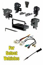 Single Din Radio Kit Combo for somet Nissan Xterra Frontier Altima Sentra Maxima