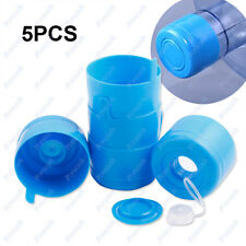 5X55mm 3 & 5Gallon Replacemet Water Bottle Snap On Cap Anti Splash Peel Off Tops