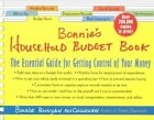 Bonnie's Household Budget Book: The Essential Guide for Getting Control of Your Money by Bonnie Runyan McCullough (Spiral bound, 2001)