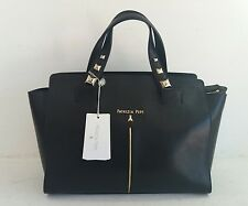 PATRIZIA PEPE borsa a mano tracolla bags handbags pelle black leather