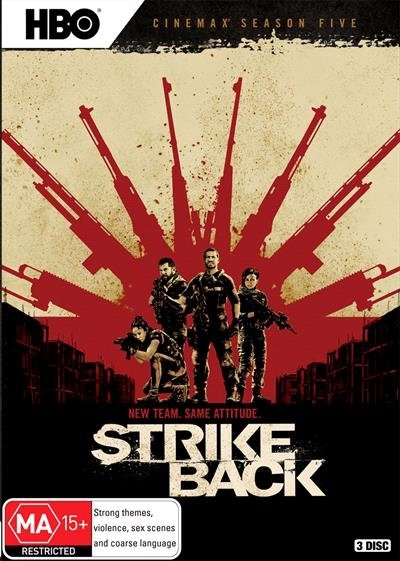 Strike Back Season 5 DVD : NEW