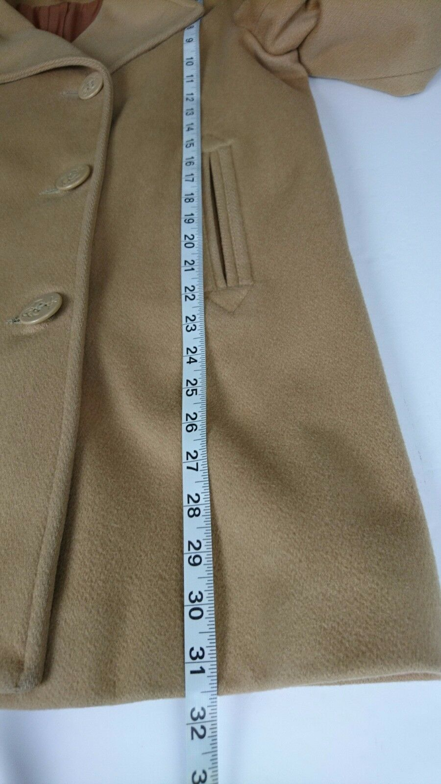 Vintage Talbots Size 10 Brown Brown Brown Coat Double Breasted Lined Pure Wool USA Y 49dbd0